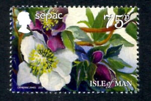 Isle of Man 2014 Flower, SEPAC issue, UNM / MNH