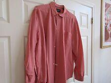 Indigo Palms , Size XL , Men's Long Sleeve Shirt , 77% Modal , 23% Polyester