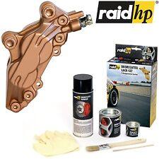 raid hp Bremssattellack KUPFER METALLIC mit Zubehör 6tlg Set 2K-Profi Qualität