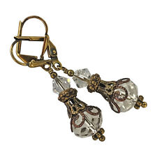 Boho Chic Vintage Crystal Dangle Jewelry Fashion Earrings