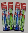 Colgate Sports Soccer Toothbrush Extra Soft 5 years 4 pack  Free Shipping