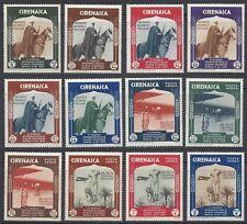 CIRENAICA 1934 Mostra Arte Coloniale PO+PA MNH** (KF)