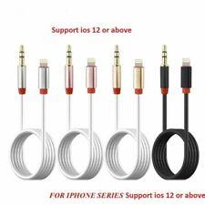 Genuin Iphone Cable De Iluminación 7+ X 8 Car Audio Música AUX Cable Jack de 3.5mm