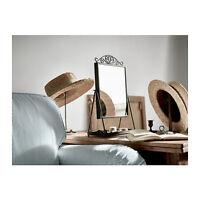 IKEA KARMSUND Specchio da tavolo, nero 27x43 cm