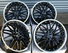 "ALLOY WHEELS X 4 FIT SAAB 9-3 9-5 93 95 9-3C JEEP COMPASS RENEGADE 19"" BP 190"