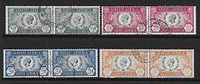 South Africa 1935 Silver Jubilee set FU