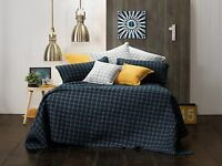 Bianca Clarence Navy Bedspread Set in All Sizes