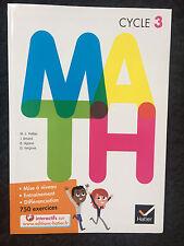 Manuel Livre MATH Cycle 3 Hatier 100% NEUF