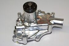 Competition+ Circle Track Ford 302-351W Performance Aluminum Water Pump Polished