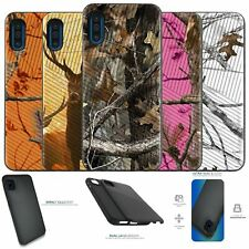 For [Samsung Galaxy A01 (2020)][EMBOSSED DUO SET4] Shockproof Dual Layer Case