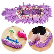 Dust Duster Mop Slippers Shoes Cover Soft Washable Reusable Home Shoe Cover