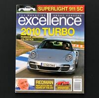 December 2009 Excellence Magazine About Porsche 2010 911 Turbo 917 No Label