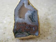 Dara Ettinger Nadine Natural Raw Agate Geode  Ring