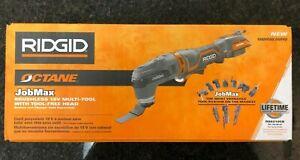 RIDGID 18V OCTANE Cordless Brushless JobMax Multi-Tool with Tool-Free Head *NEW*