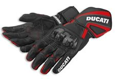 Ducati Performance '14 Black Leather Motorcycle Gloves 981025803 Size SMALL