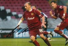MK DONS HAND SIGNED COLIN CAMERON 6X4 PHOTO.