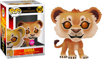 Lion King (2019) - Simba Flocked US Exclusive Pop! Vinyl - FUNKO New