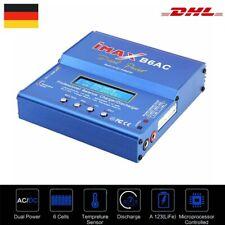 IMAX B6 AC 80W Netzteil Ladegerät Batterie Balance Charger LiPo Dual Power DHL