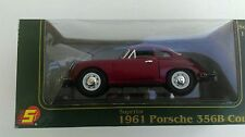 Superior 1:24 Scale 1961 356B Porsche Coupe Dark Red