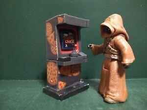 Custom star wars clone wars gaming arcade machine for  diorama 3.75