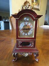 Vintage! Elegant Germany Mantel Clock, 8 Days, Working, German, No Sale Tax