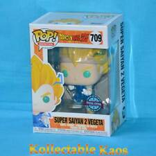 Dragon Ball Z - Vegeta Super Saiyan 2 Pop! Vinyl Figure (RS) #709