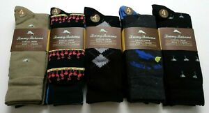 Tommy Bahama Men's 4pk Casual Crew Socks One Size