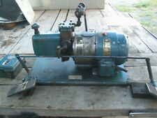 3HP WHITNEY Hydraulic Pump 3ph/220/480 w/Tank,Valves,Dualfoot control