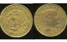 MEXIQUE 5 centavos 1965