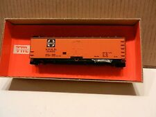 Train Miniature HO Vintage NIB AT&SF Wood Reefer Kit