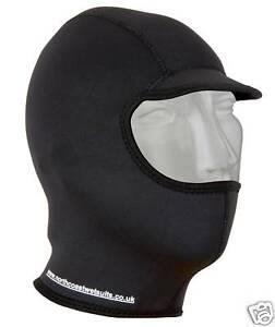 Wetsuit Surf hood balaclava  warm 3mm titanium neo side opener easy on/off