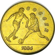 elf 1984 Olympics Bus Token  Soccer