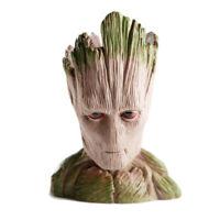 Tree Man Groot Holder Planter Galaxy Pen Figure Flower Pot Guardians of The Toy