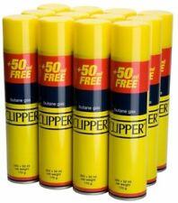 Genuine CLIPPER Universal Lighter Butane Gas Fuel Fluid Refill 300ML Smoking New