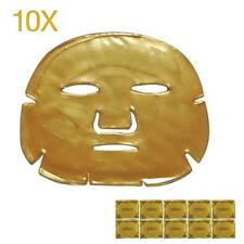10pcs Gold Collagen Bio Crystal for Face Facial Mask Anti Ageing Wrinkle Mask GL