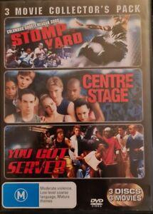 Stomp Yard / Centre Stage / You Got Served  - DVD - Region 4