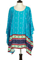 L1X 2X 3X 4X 5X 6X 7X 8X Cotton Kaftan Caftan Shirt Top Tunic Dress P2048