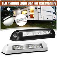8W LED Awning Light Door Entry Light Bar Strip For Caravan RV Motorhome 12V 24V