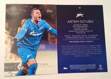 2016 Topps UEFA Champions League 5x7 GOLD (#/10 Made) ARTEM DZYUBA Zenit #187