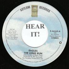 EAGLES 70s ROCK 45 (Asylum 46569) The Long Run /The Disco Strangler   VG+
