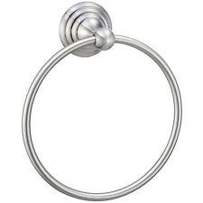 Designers Impressions Stockton Series Satin Nickel Bath Hardware Towel Ring