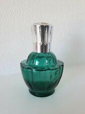 Lampe Berger France Emerald Green Glass Lamp - Catalytic Burner SilverCrown