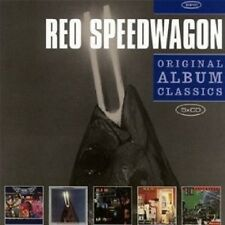 "REO SPEEDWAGON ""ORIGINAL ALBUM CLASSICS"" 5 CD NEU"
