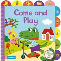 Playing Together: A Book About Playing, with Tabs for Older Babies-ExLibrary