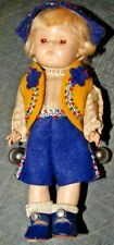 Vintige 50's Vogue Tyrelean Doll Nice Original Condition Brother & Sister Collec
