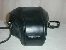 Nikkormat camera case with carrying strap