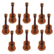 10 Miniature Guitar Fairy Garden Terrarium Figurine Decor DIY Bonsai Crafts