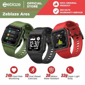 NEW 2021 Zeblaze Ares Smart Watch Bluetooth 5.1 Heart Rate Monitor Waterproof