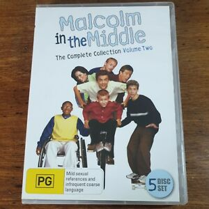 Malcolm in the Middle Collection DVD R4 VOLUME TWO S2 Disc 3+4 S3 Disc 1-3