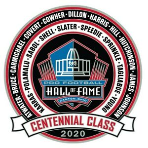 Official Class of 2020 Pro Football Hall of Fame Collectible Pin